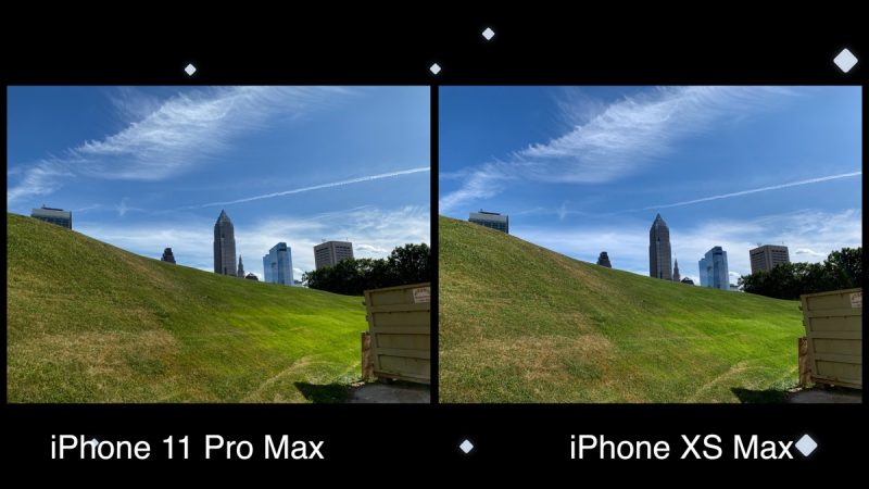 Camera Comparison Iphone 11 Pro Max Vs Iphone Xs Max