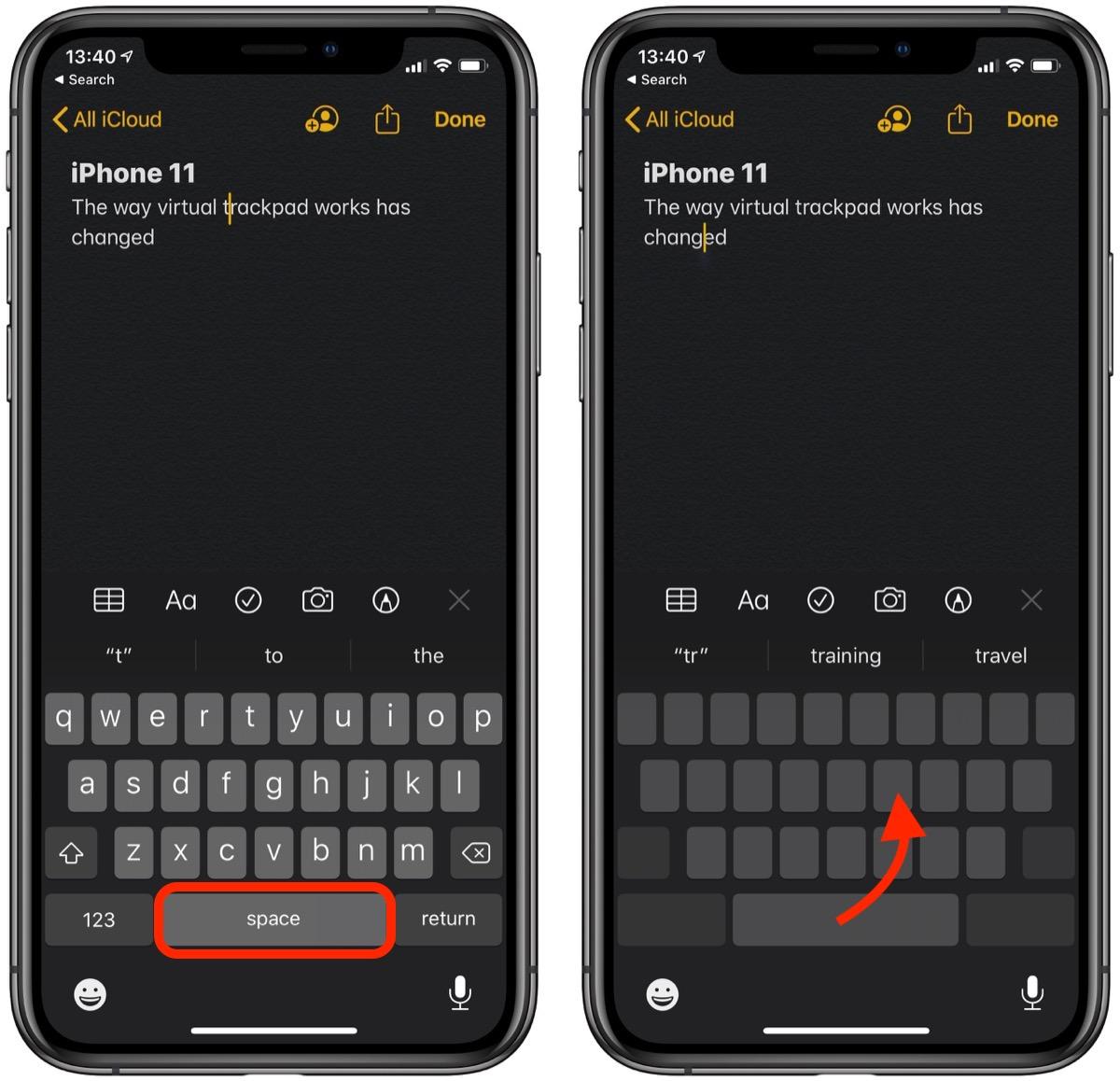 如何在 iPhone 和 iPad 上使用 iOS 13 的文本编辑手势?