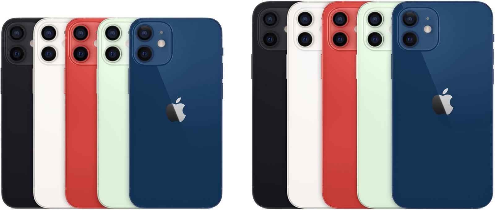 iphone12sizesandcolors