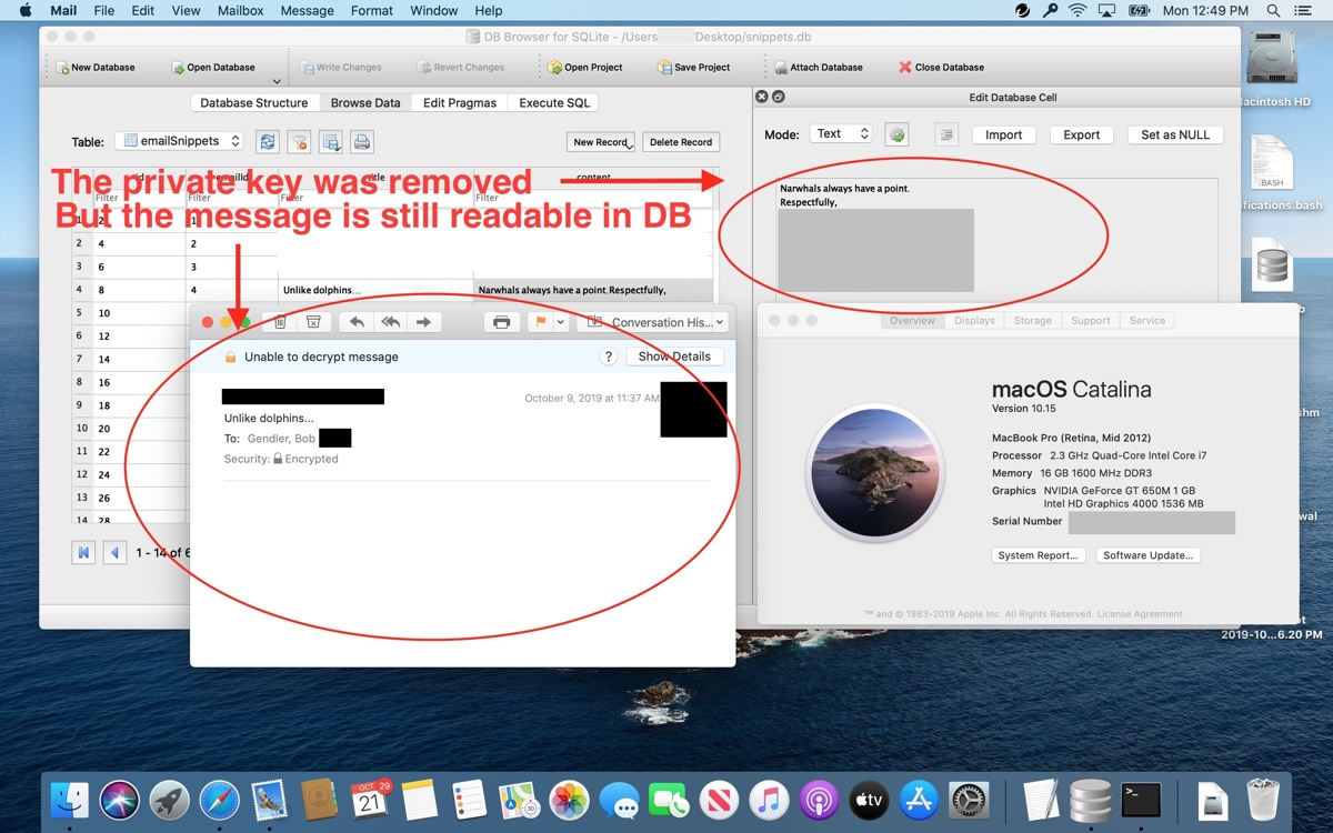 photo of Apple to Fix macOS Mail Vulnerability That Leaves Text of Some Encrypted Emails Readable image