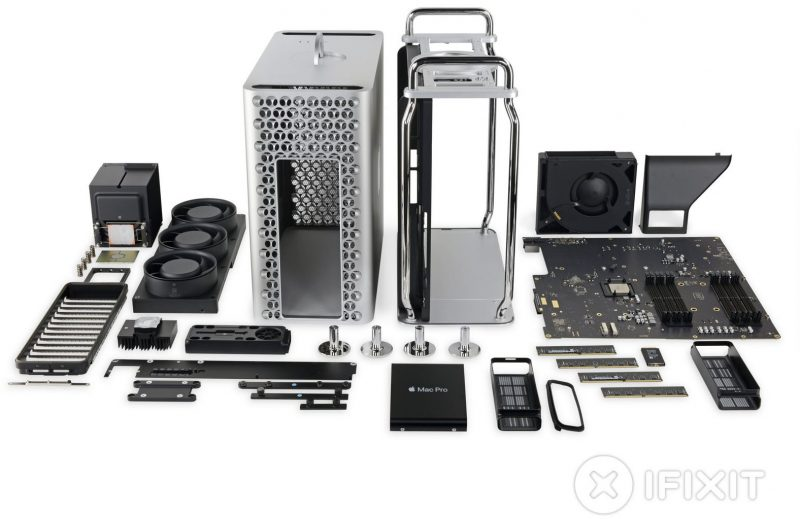 How will the new Apple Mac Pro do in the iFixit teardown