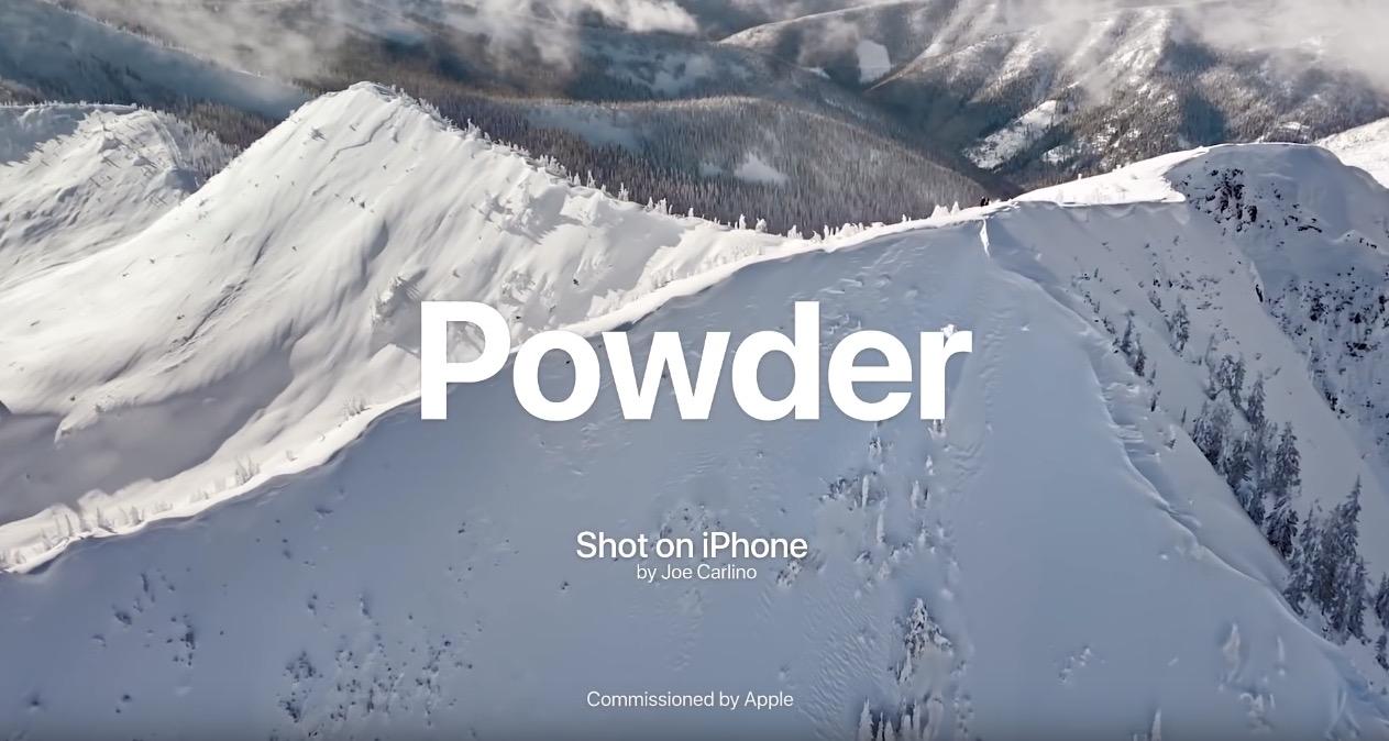 Apple Shares New 'Powder' Shot on iPhone Video - MacRumors
