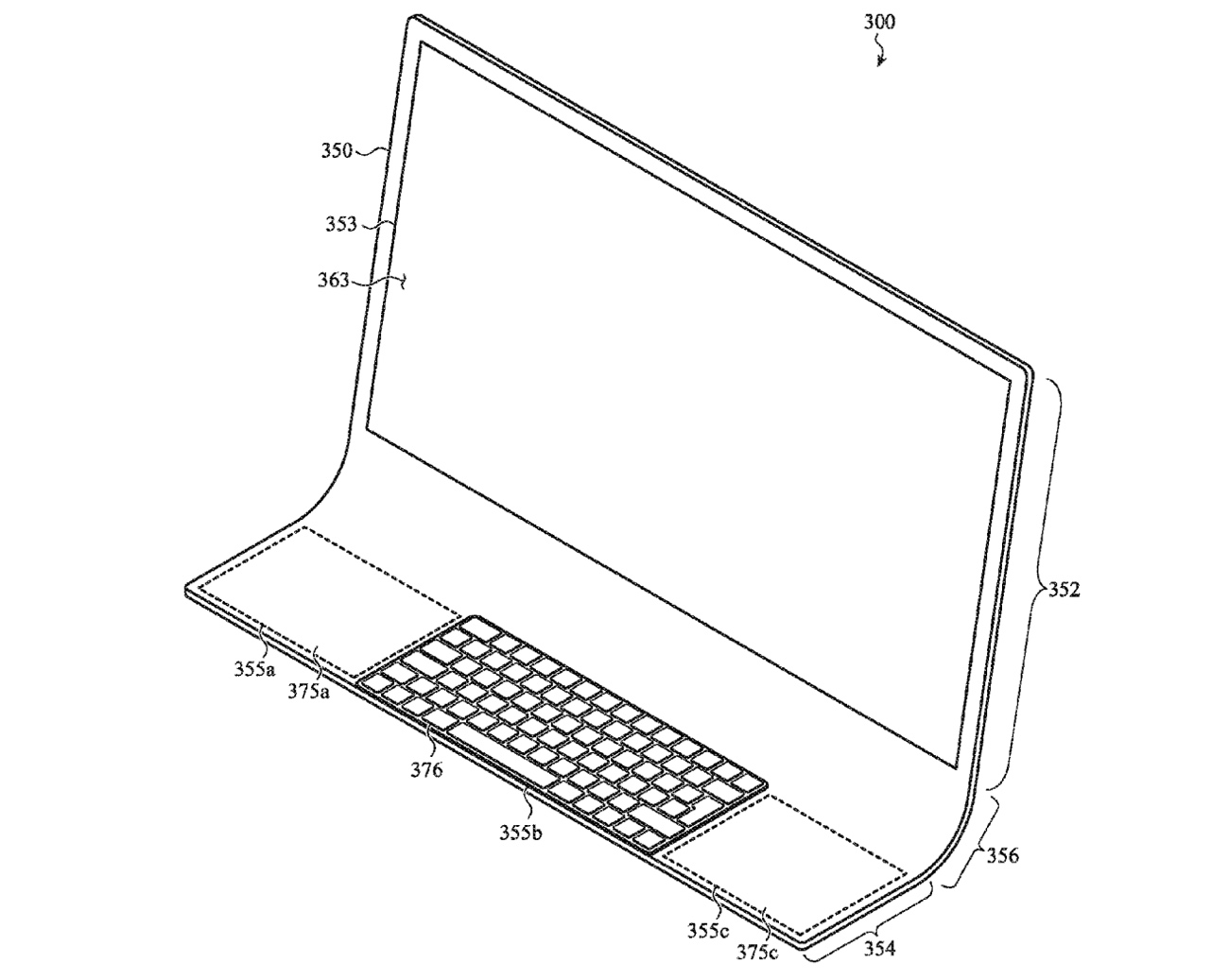 Apple Patent Imagines iMac Made From a Single Sheet of Glass - MacRumors