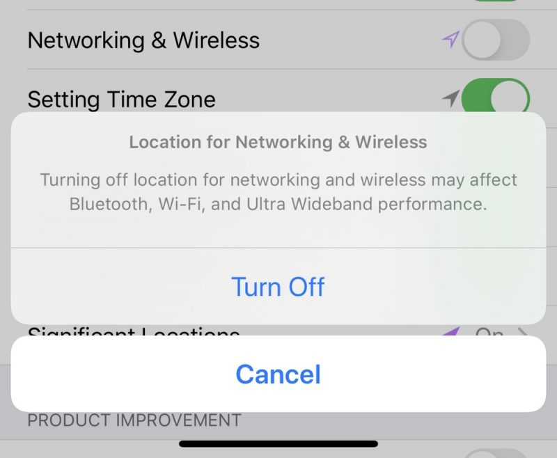 IOS 13.3.1 Beta 2 Adds Toggle to Disable Ultra Wideband Chip