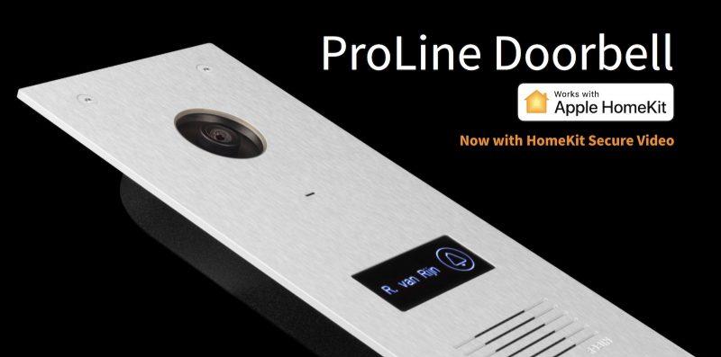 robin proline doorbell homekit secure video