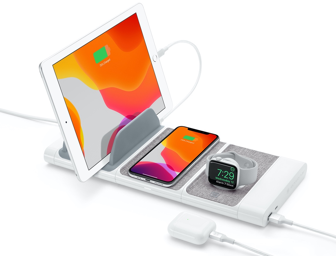 Apple Stores Now Selling Scosche's BaseLynx Modular Charging System - MacRumors
