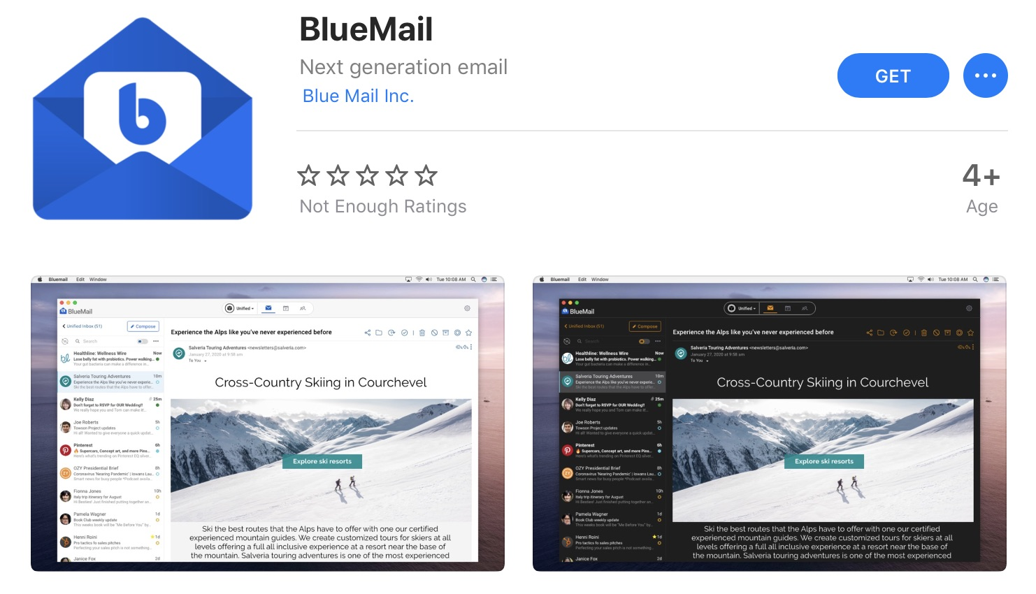 BlueMail Returns to Mac App Store, Developers Still Suing Apple Over Anticompetitive Behavior [Updated]