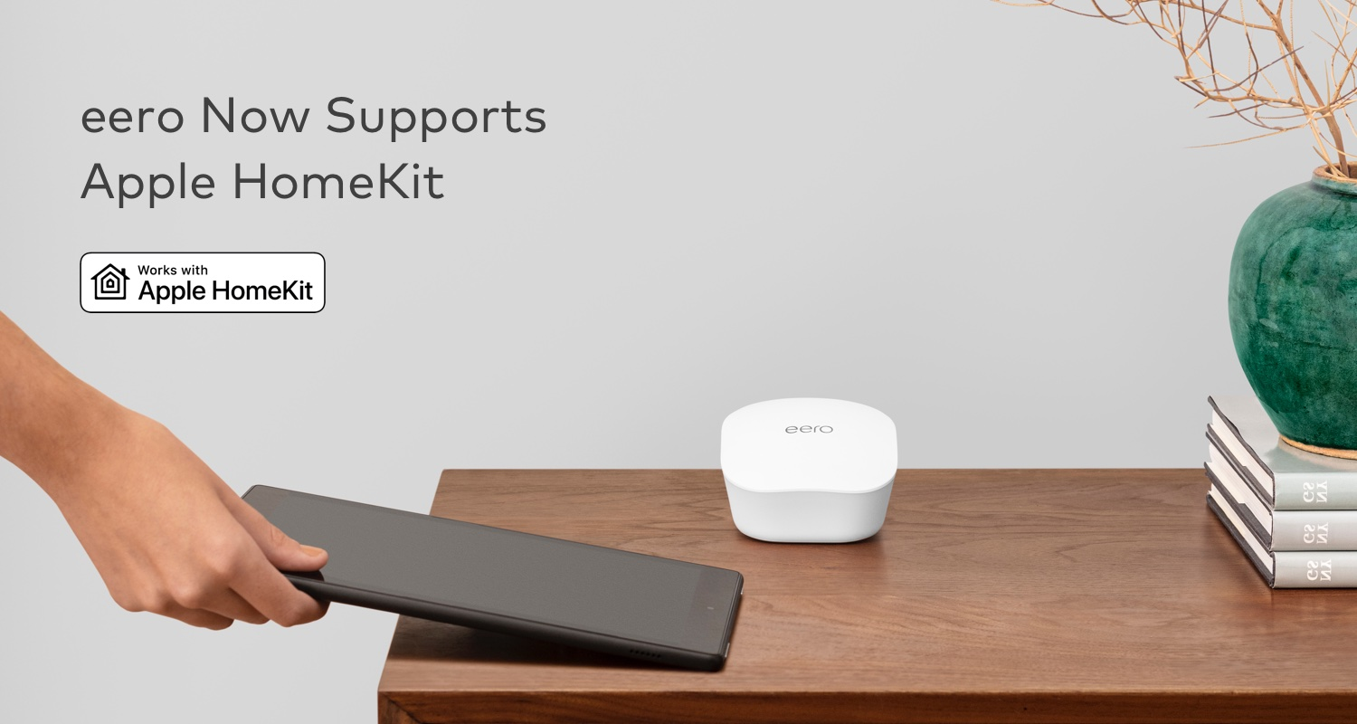 Eero Mesh WiFi Routers Gain HomeKit Support - MacRumors