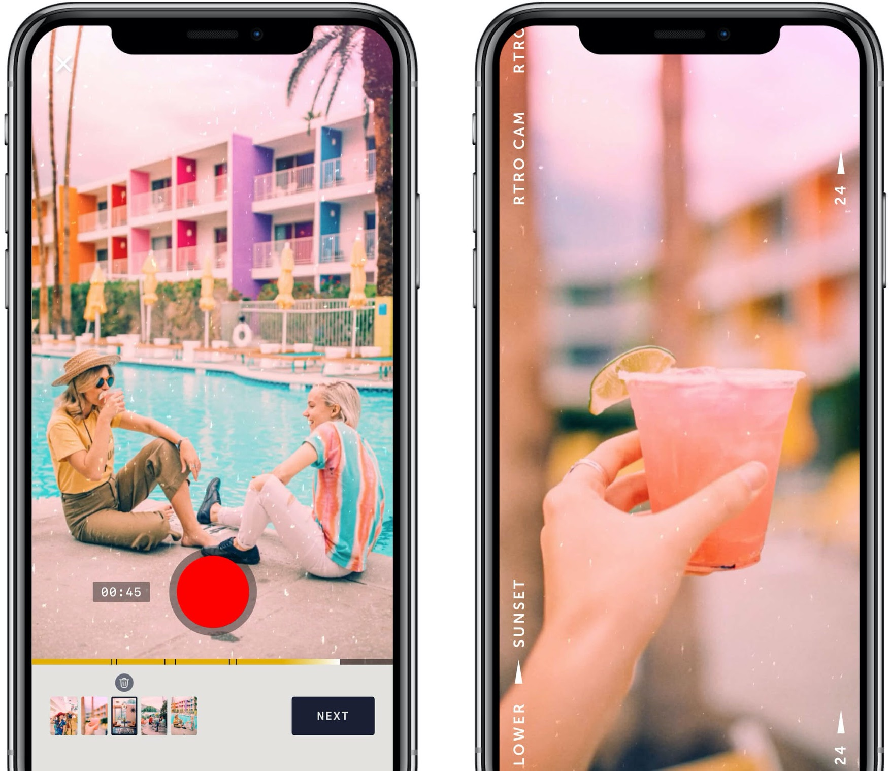 RTRO Camera is a New Video Editing App From the Makers of Moment Lenses