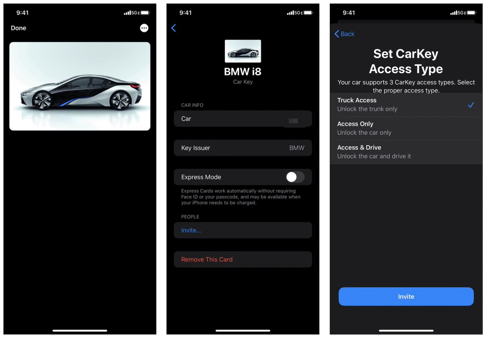 photo of CarKey Screenshots Reveal Digital Keys in Wallet App, BMW Likely to Support Feature at Launch image