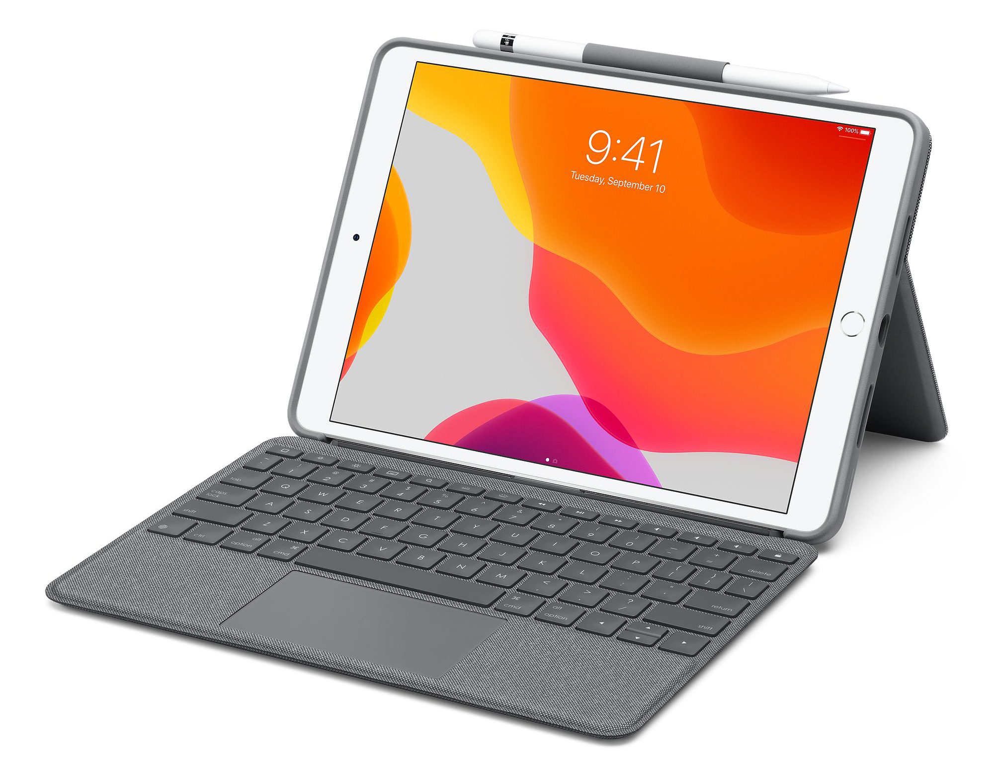logitech trackpad keyboard ipad air