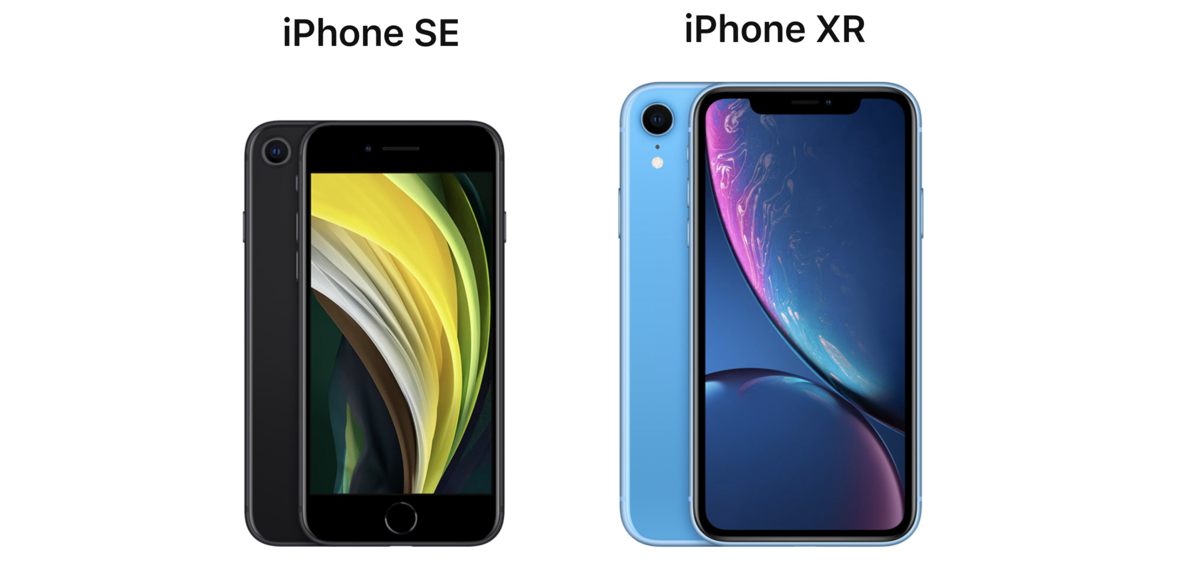 iPhone SE vs. iPhone XR: Features Compared