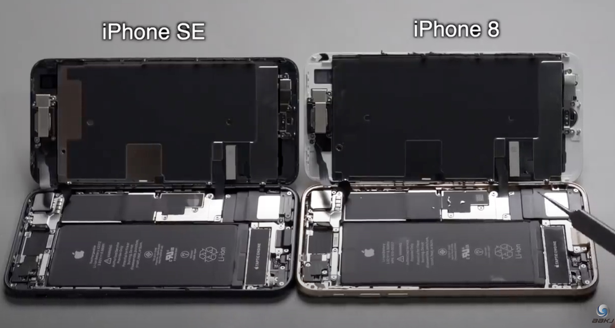 Teardown Video Compares New iPhone SE to iPhone 8 - MacRumors