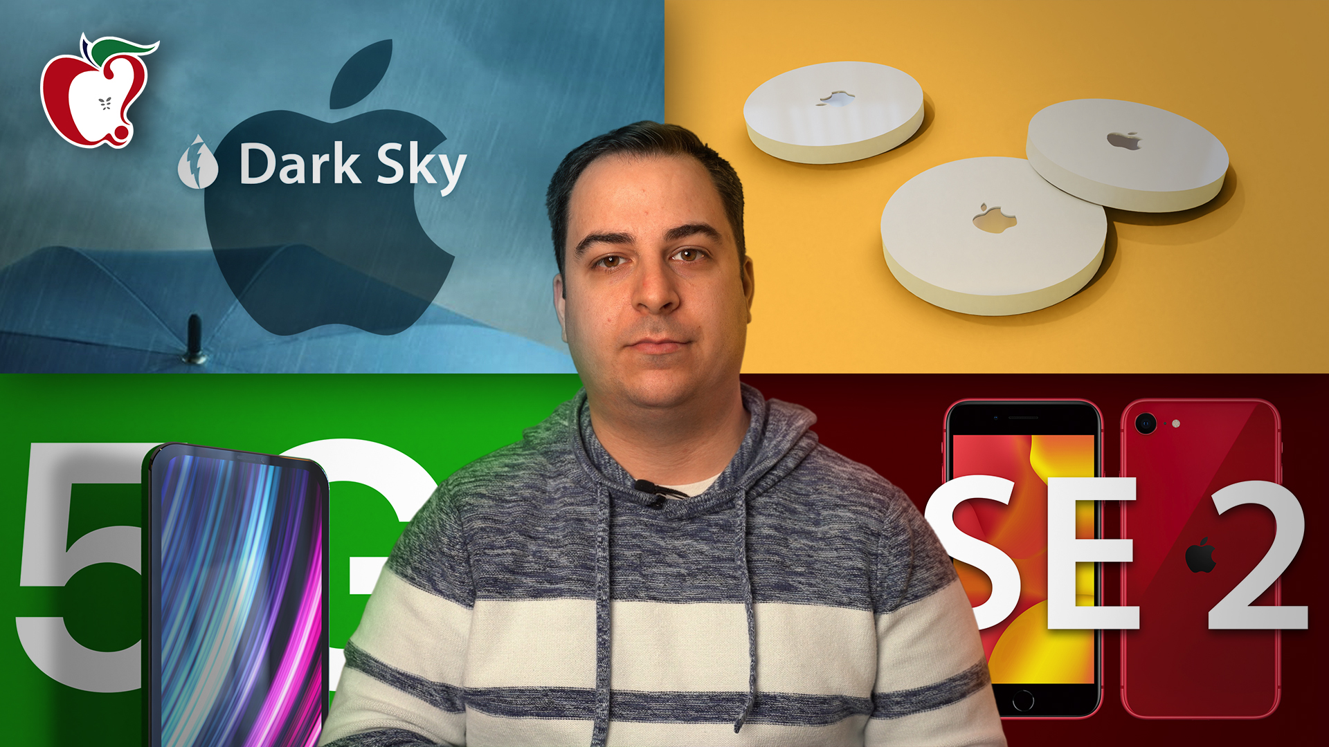 Top Stories: Apple Leaks iPhone SE and AirTags, Apple Buys Dark Sky, and More - MacRumors