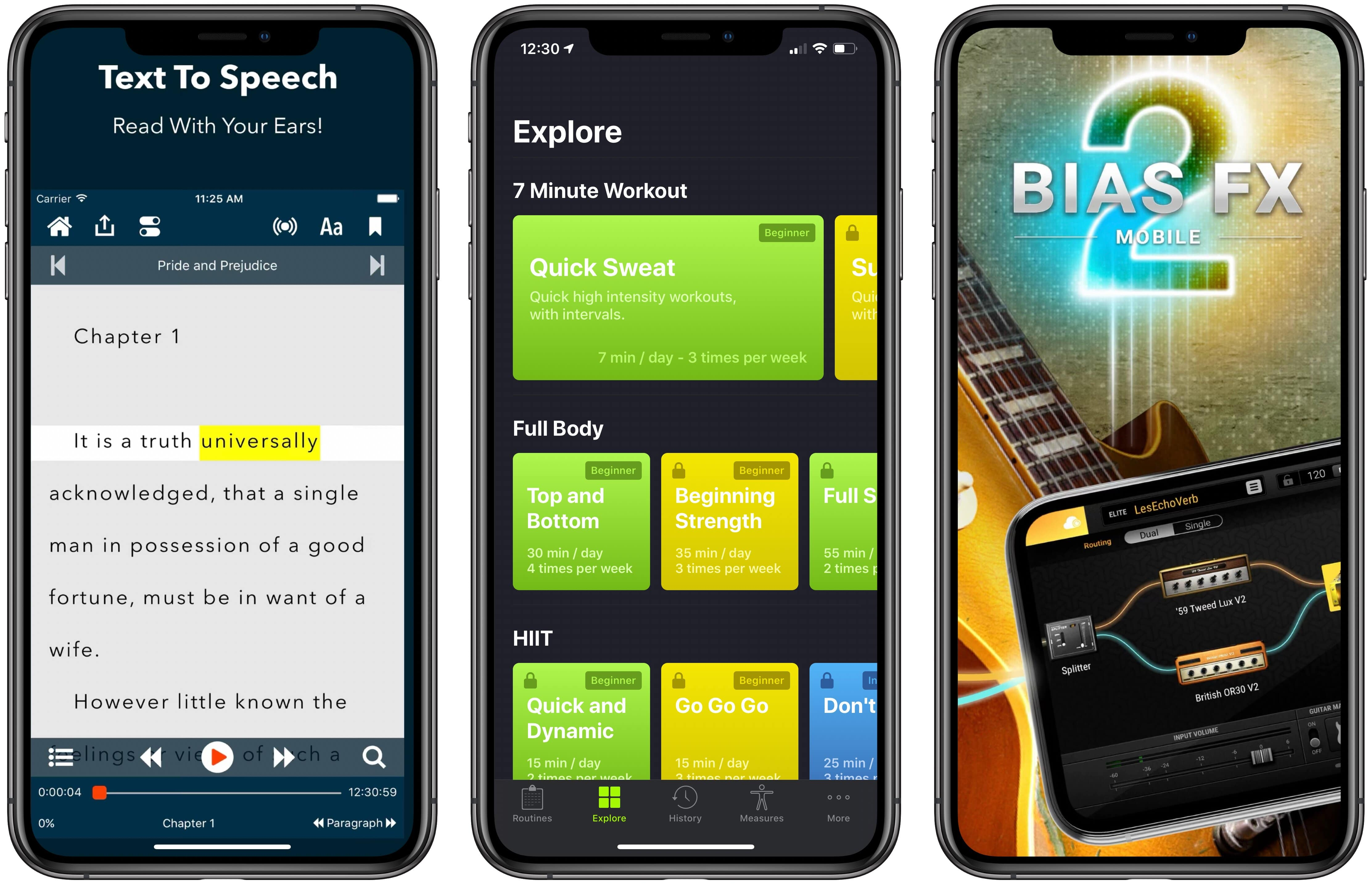photo of App Recap: Voice Dream Reader, SmartGym, BIAS FX 2, and Major App Updates image