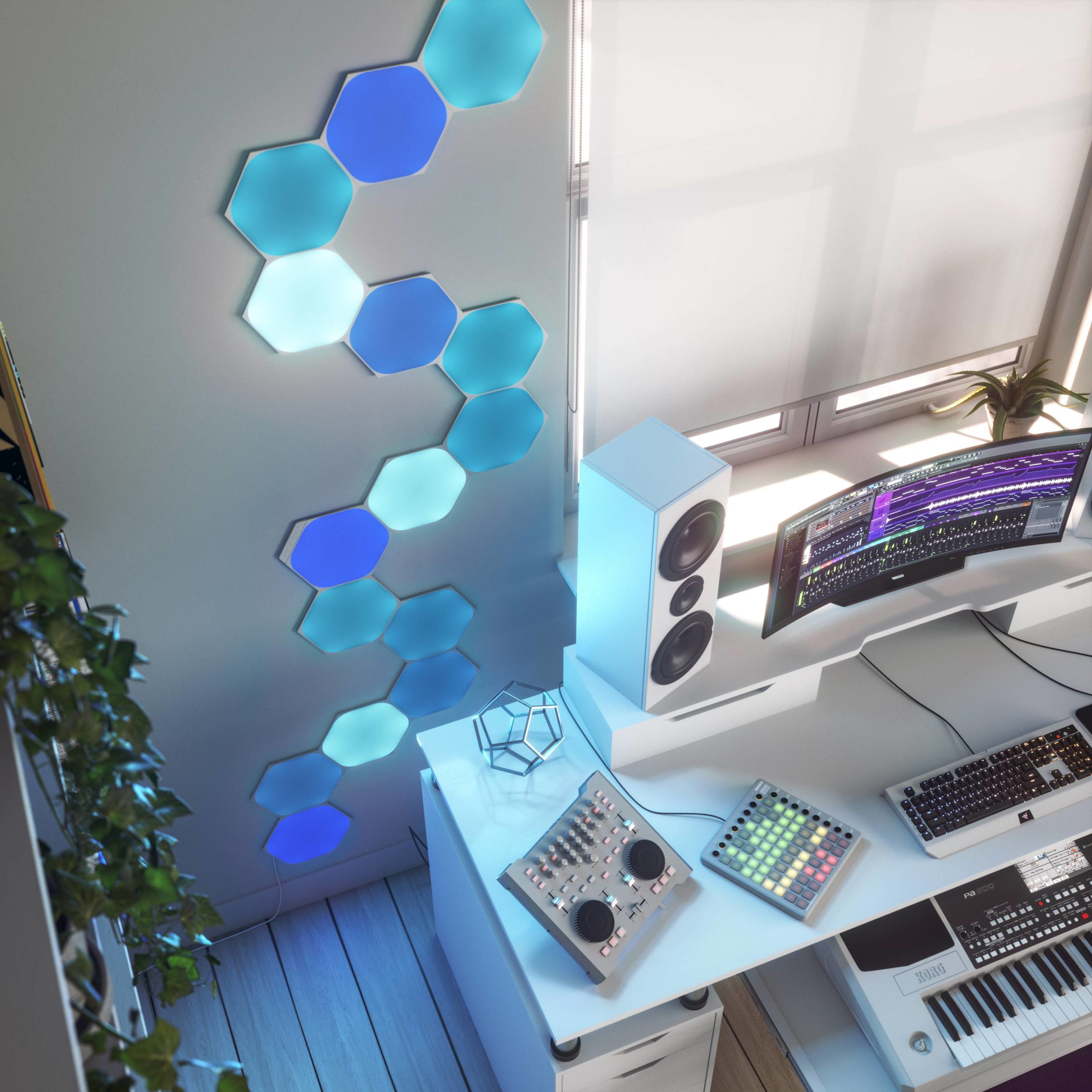 photo of Review: Nanoleaf's HomeKit-Enabled Hexagons Paint Your Walls With Color image