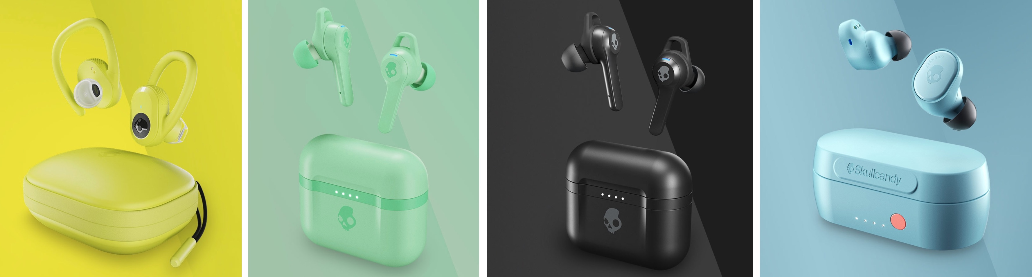 Skullcandy Launches Four New Headphones With Built-In Tile Bluetooth Tracking Support
