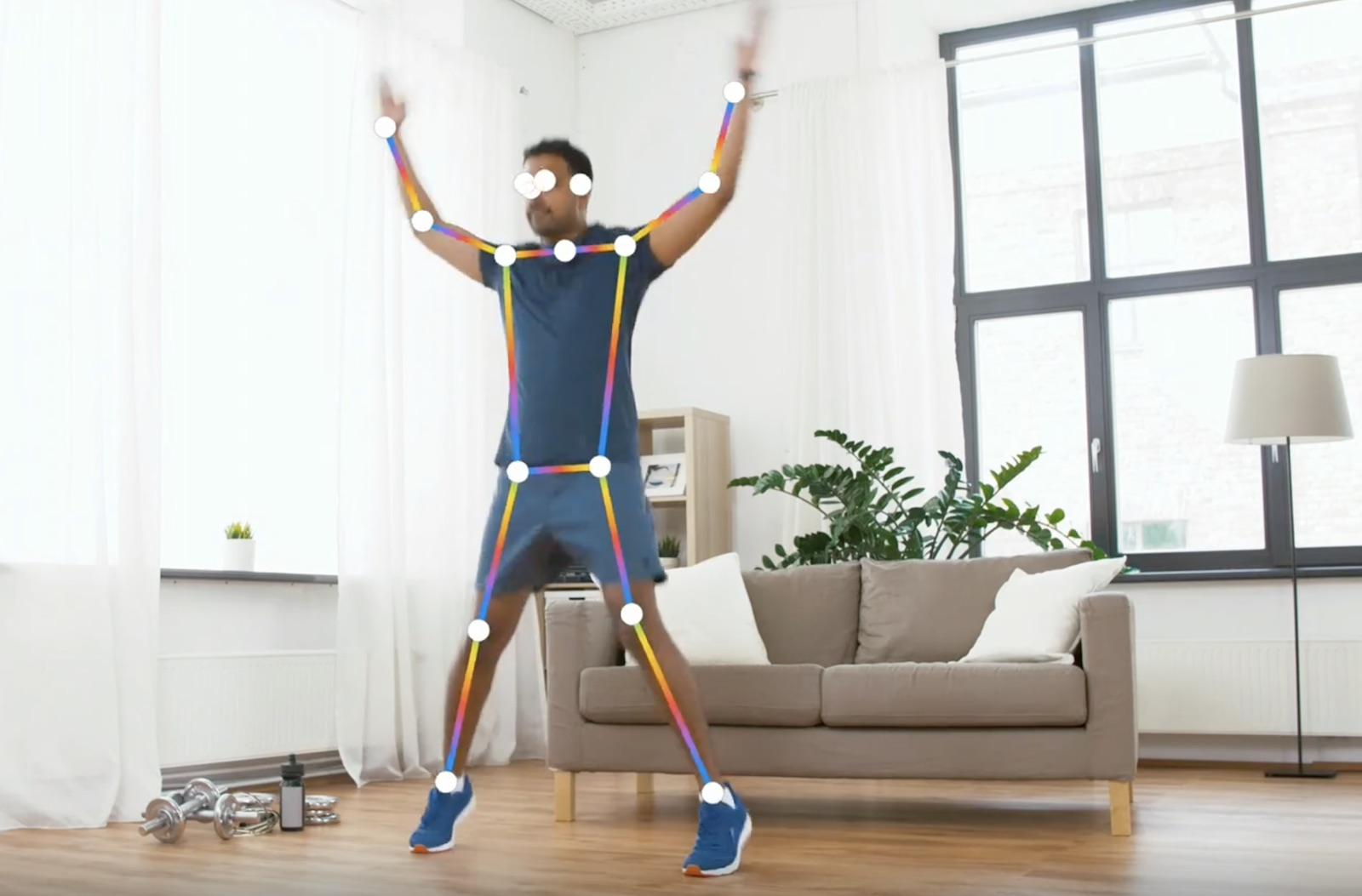 apple vision framework human body pose detection jumping jack
