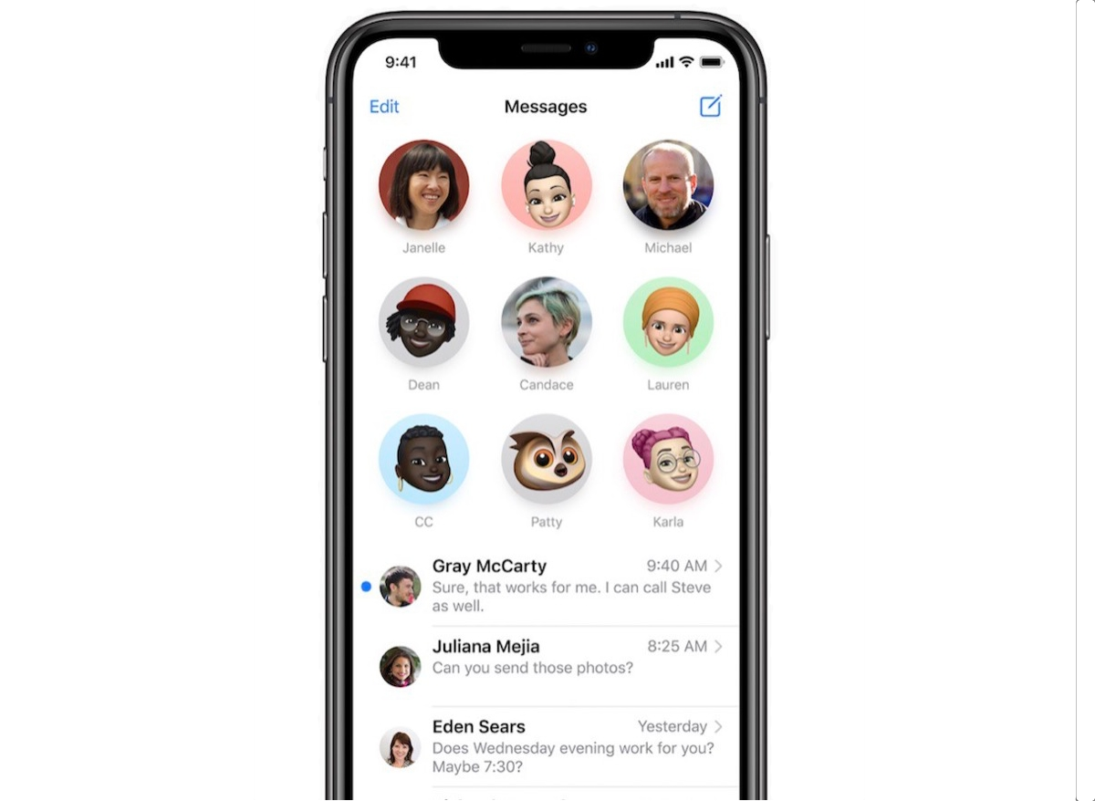 How to Pin and Unpin Conversations in the iOS 14 Messages App - MacRumors