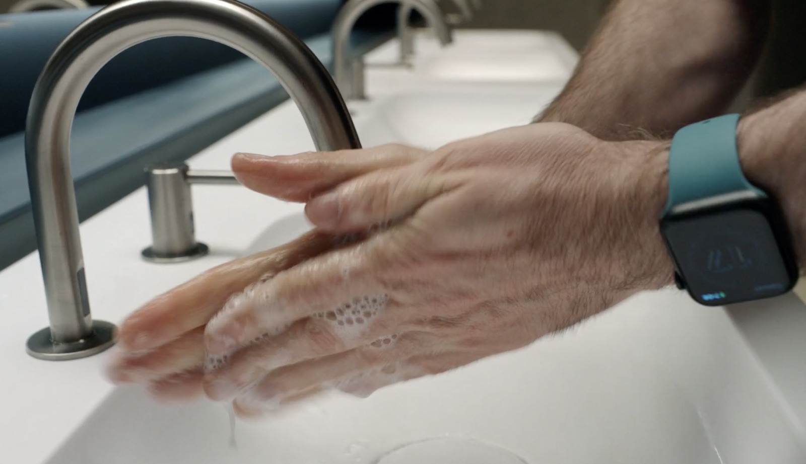 watchos7 hand washing