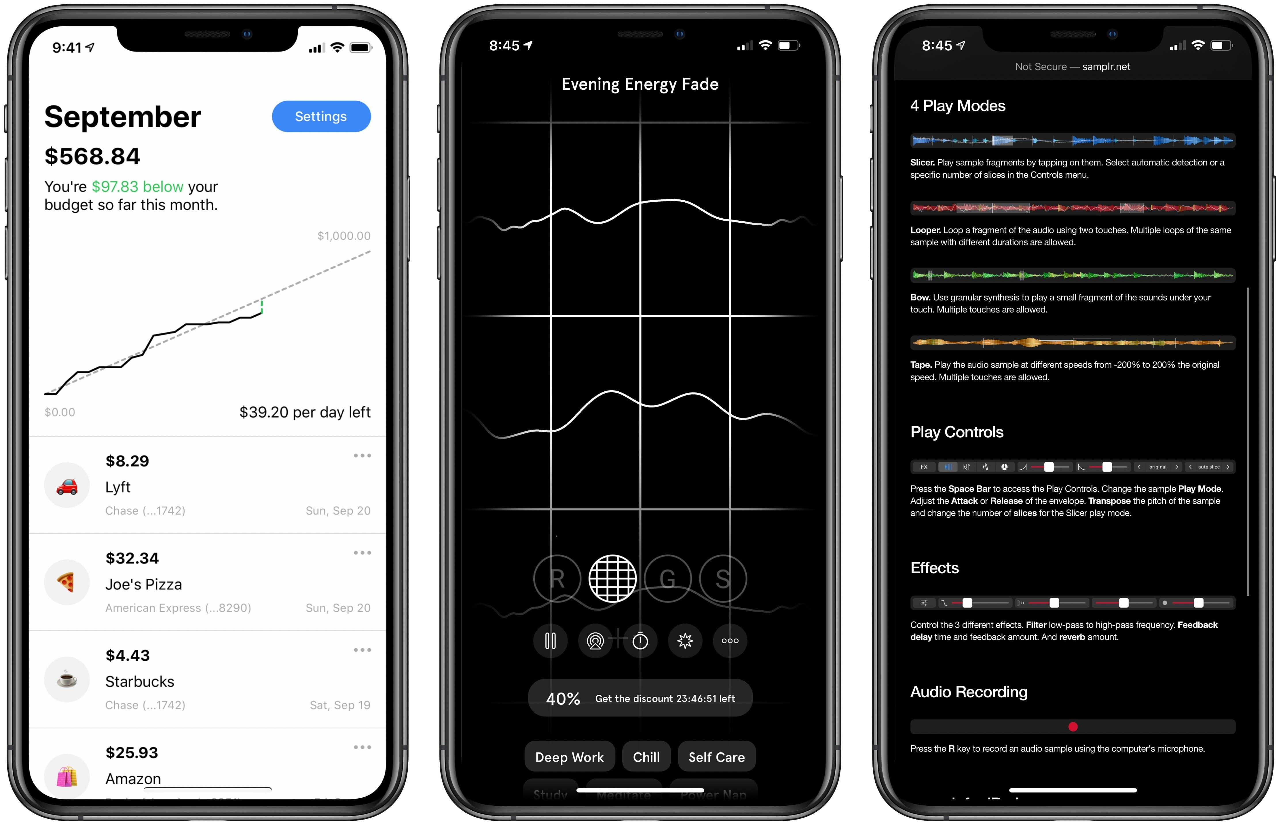 photo of App Recap: Budget Burndown, Endel, Samplr and Major App Updates image