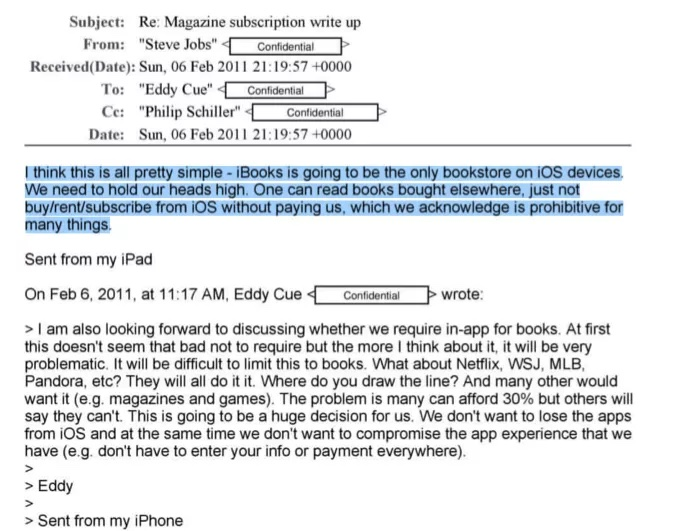 photo of Emails Reveal Why Steve Jobs and Phil Schiller Blocked In-App Purchase of Kindle Books image