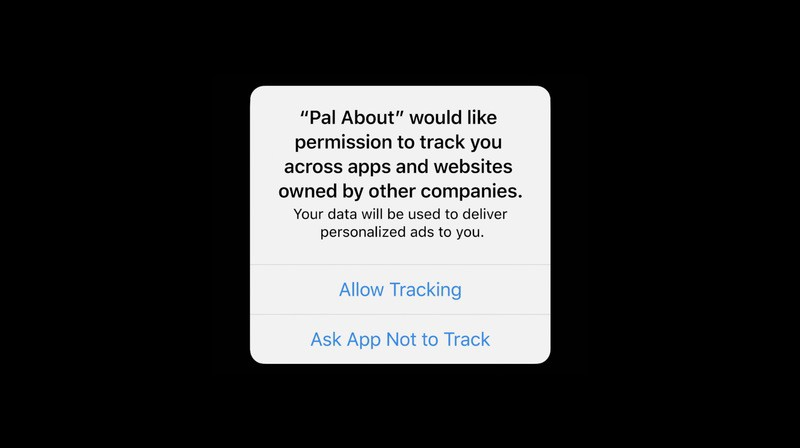 app tracking pop up ios 14