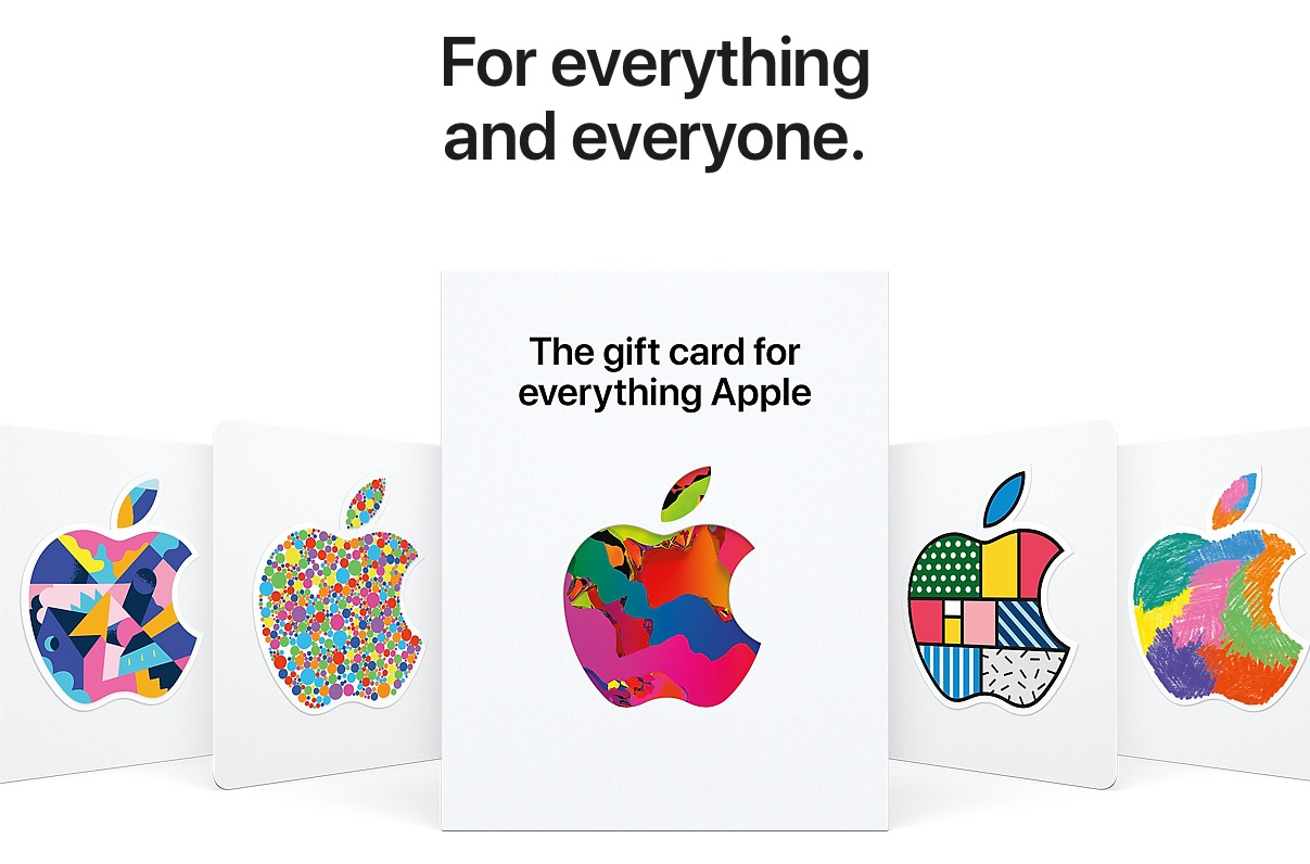 photo of Apple Launches New Gift Card for 'Everything Apple' image