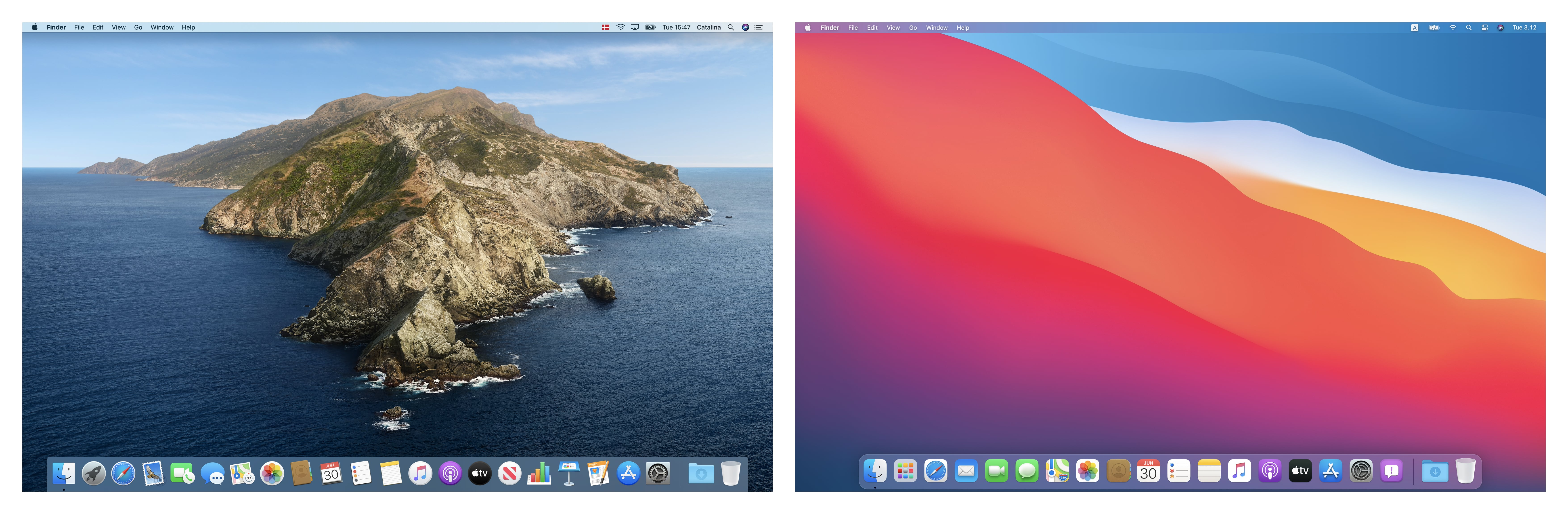 photo of Developer's Visual Comparison of macOS Catalina and Big Sur Offers Closer Look at Apple's UI Redesign for Macs image