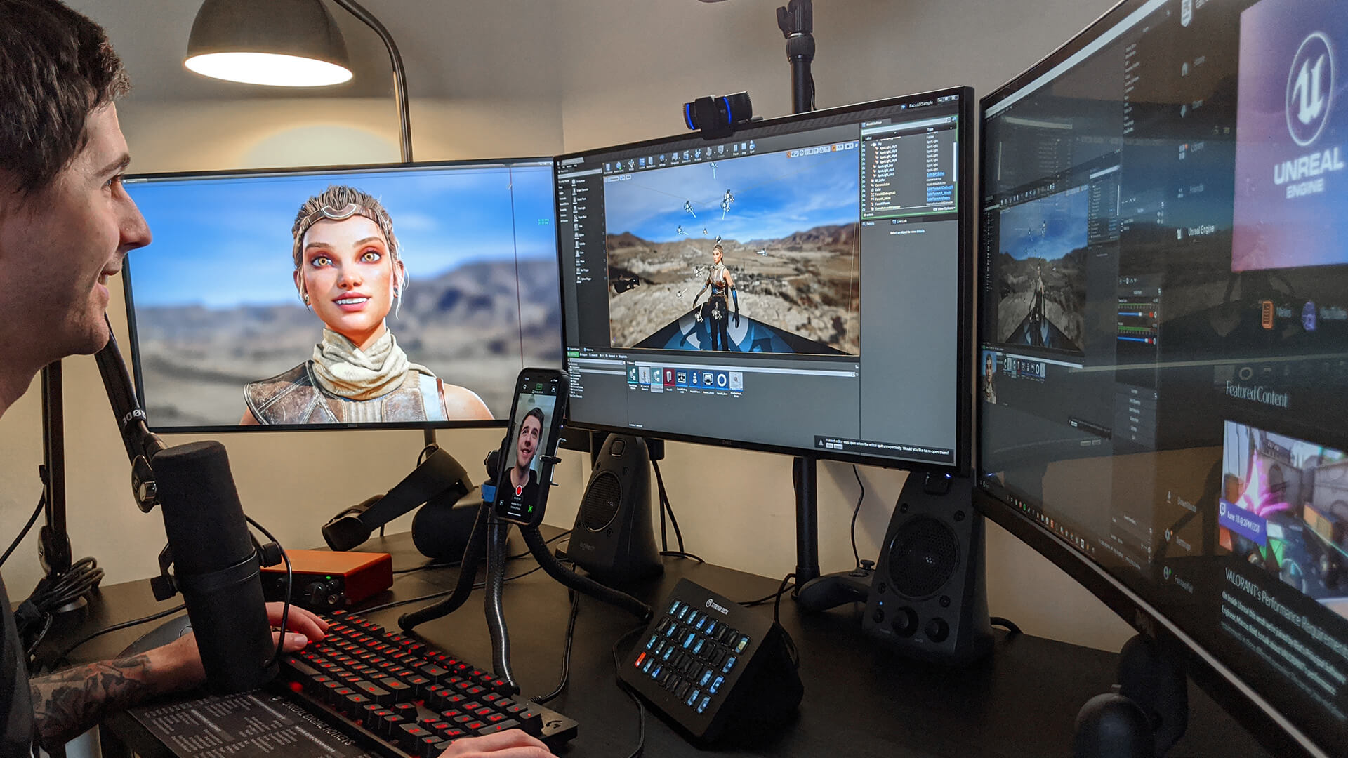 photo of Epic's 'Live Link Face' Leverages ARKit and iPhone's TrueDepth Camera for Real-Time Facial Animation image