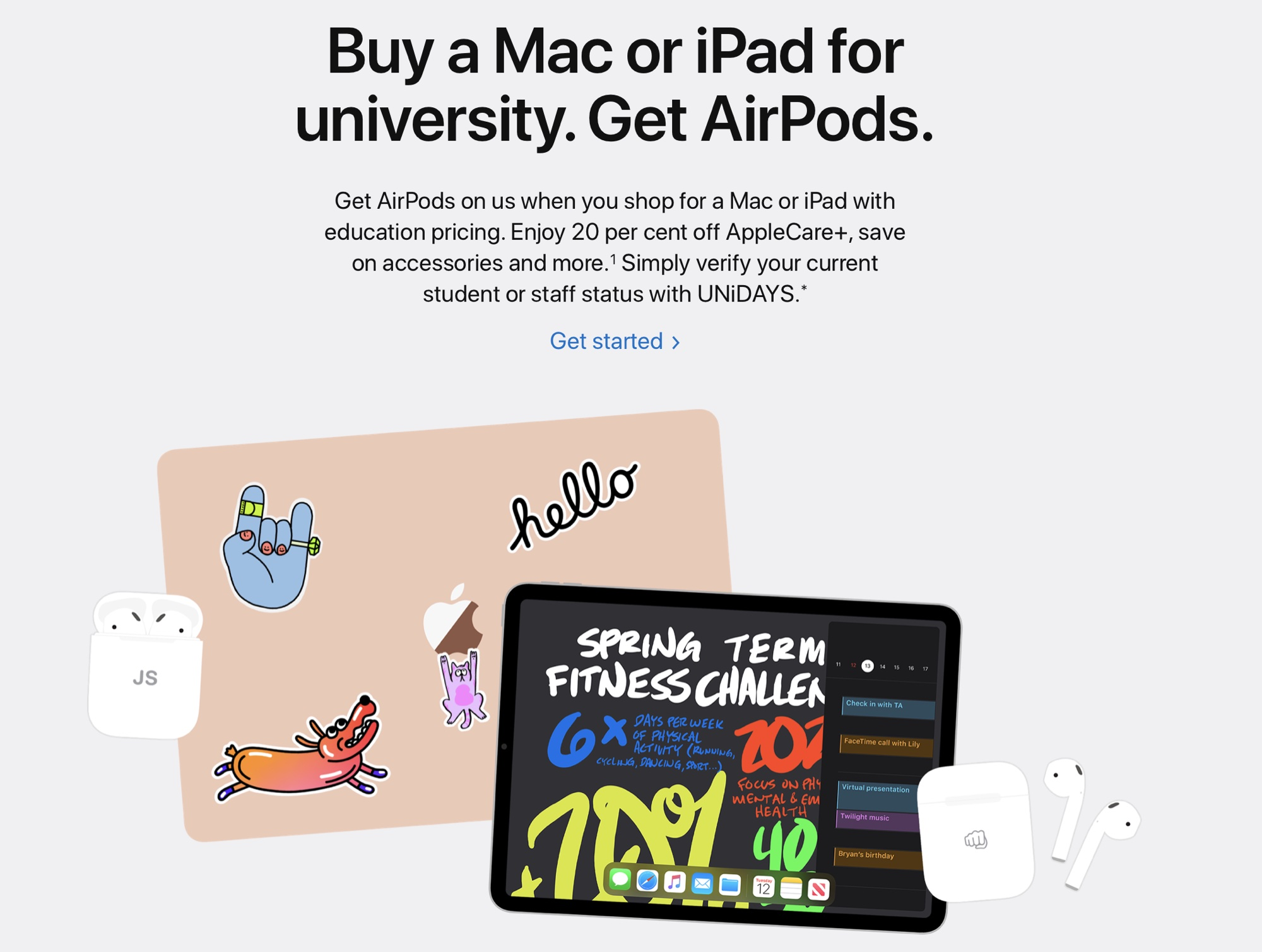 photo of Apple Launches Back to School Promotion in Europe, Asia, Mexico and the Middle East image