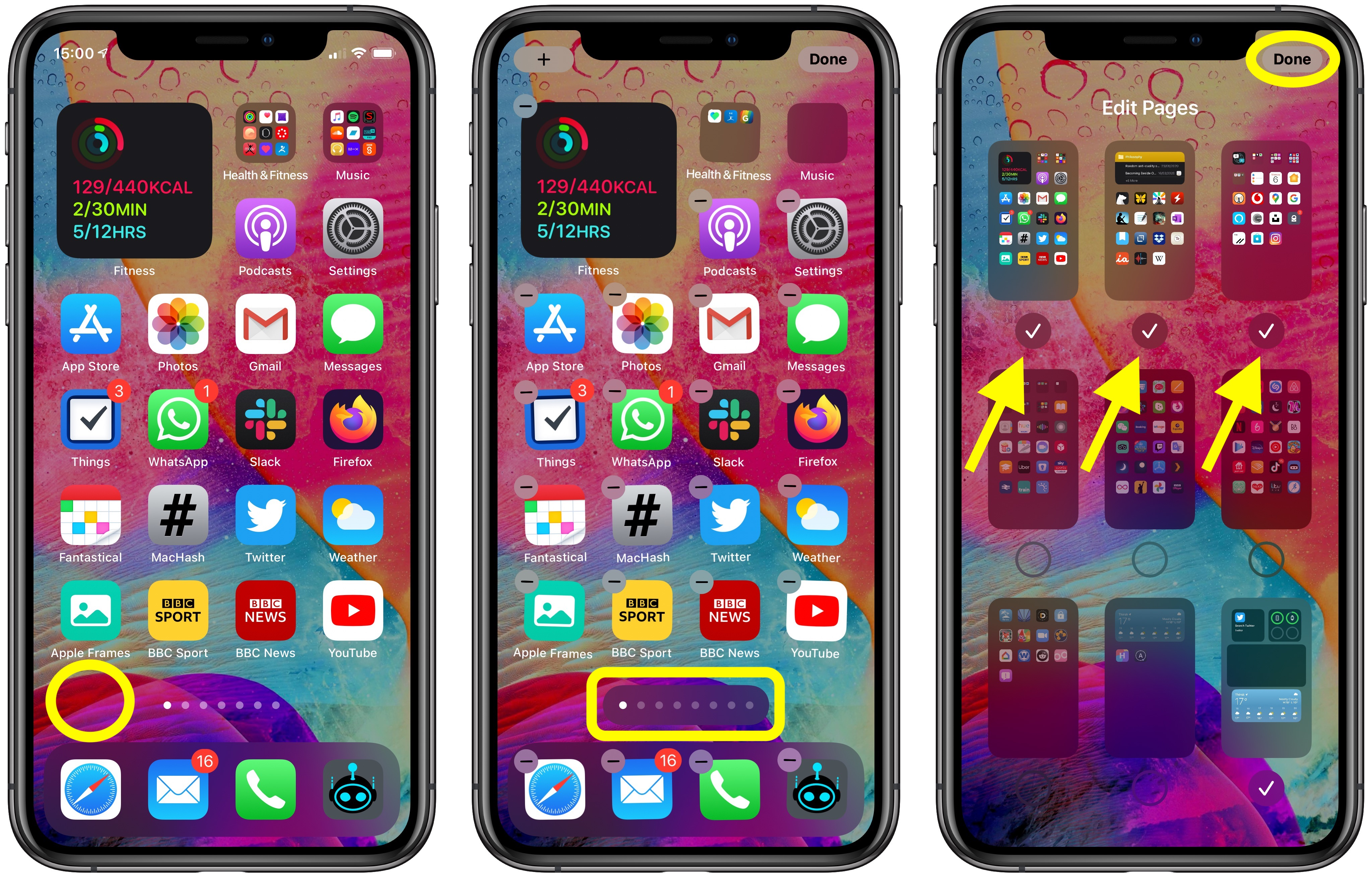 home screen apps