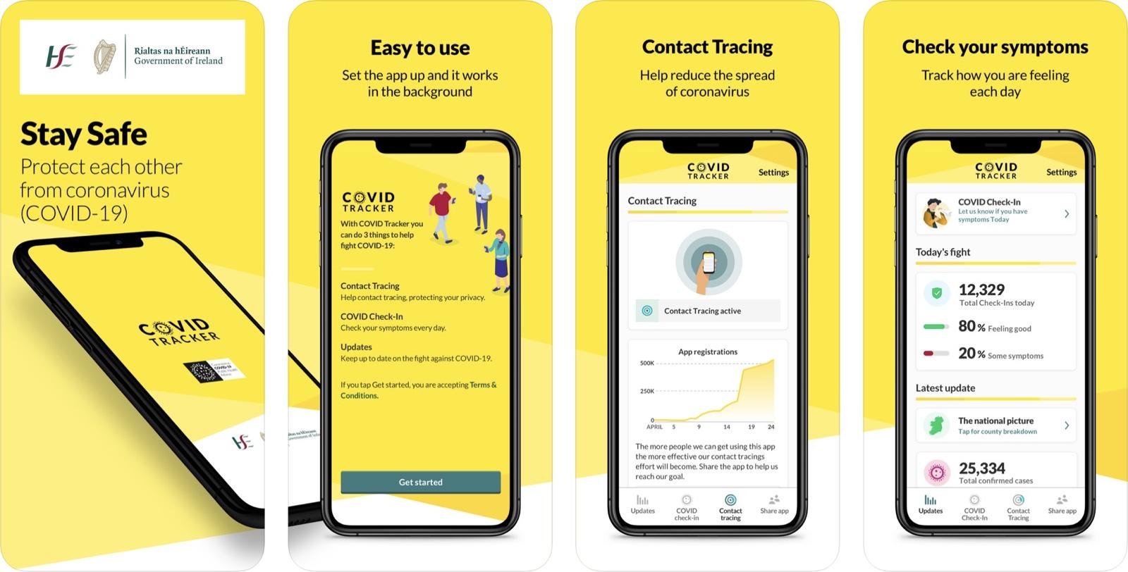 photo of Ireland Launches COVID-19 App That Uses Apple/Google Exposure Notification API image