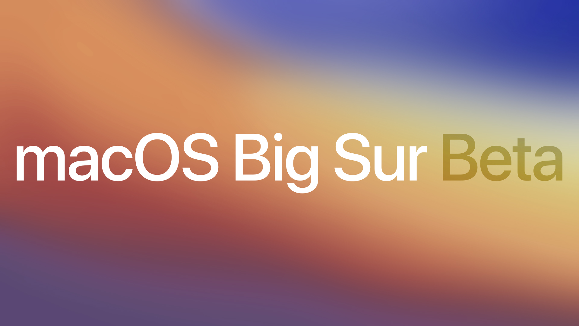 photo of Apple Seeds First Public Beta of macOS Big Sur to Public Beta Testers image