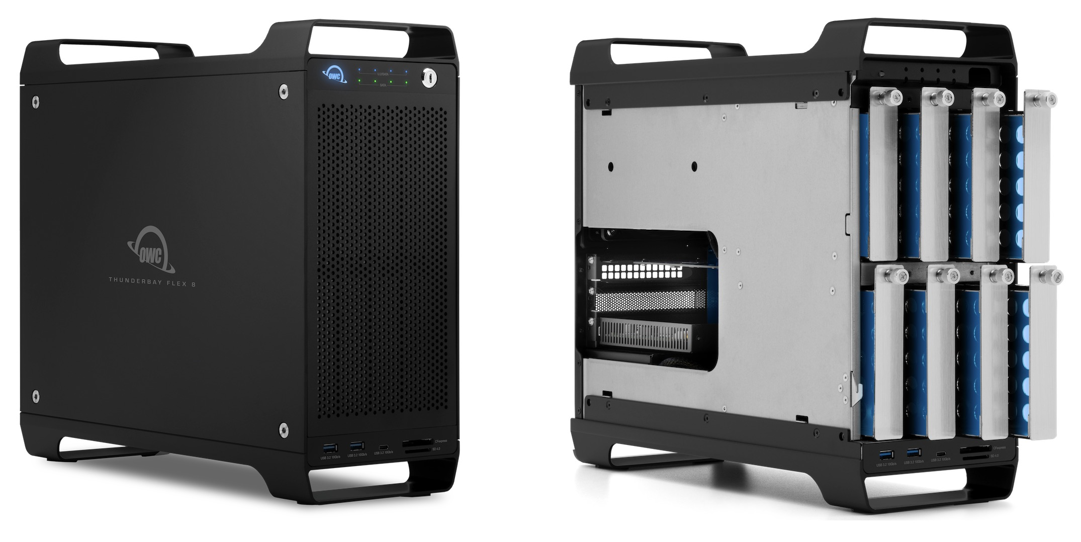 OWC's ThunderBay Flex 8 Storage and Expansion Tower for Macs Now Available - MacRumors