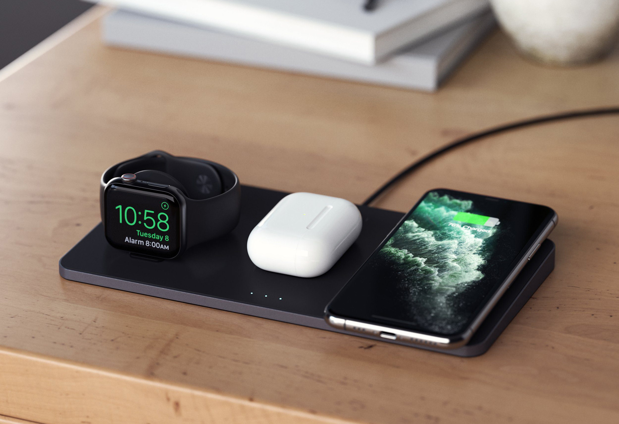MacRumors Giveaway: Win a Trio Wireless Charging Pad From Satechi - MacRumors