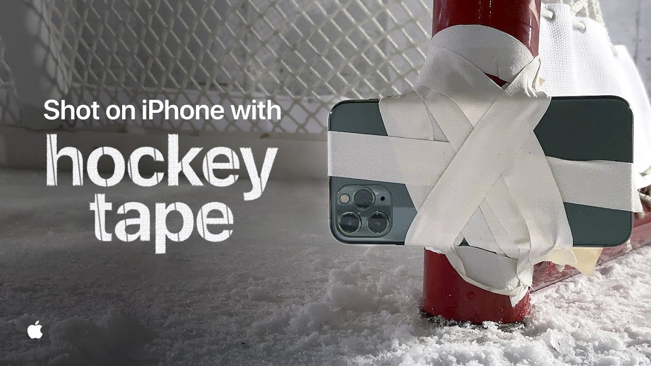 photo of Apple Marks Return of NHL With New 'Hockey Tape' Ad Shot on iPhone 11 Pro image