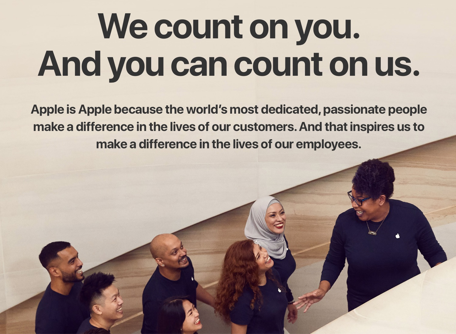 photo of Apple Adds New 'Benefits' Section to Jobs Site image