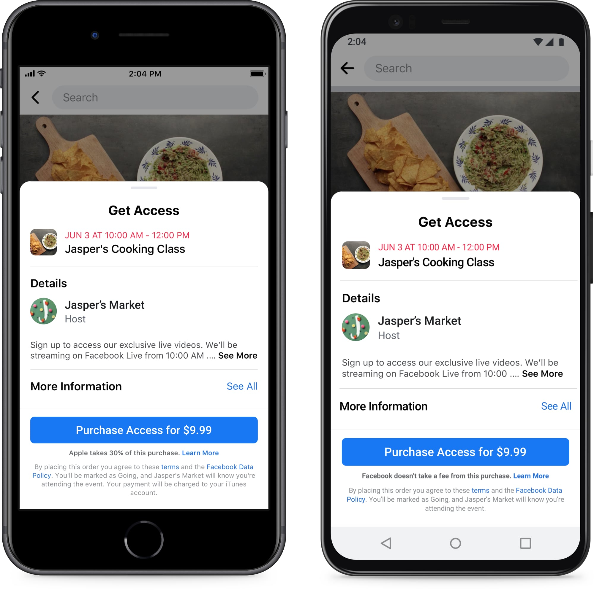 photo of Facebook Claims Apple is Damaging Small Businesses by Collecting Fees From Paid Facebook Events image