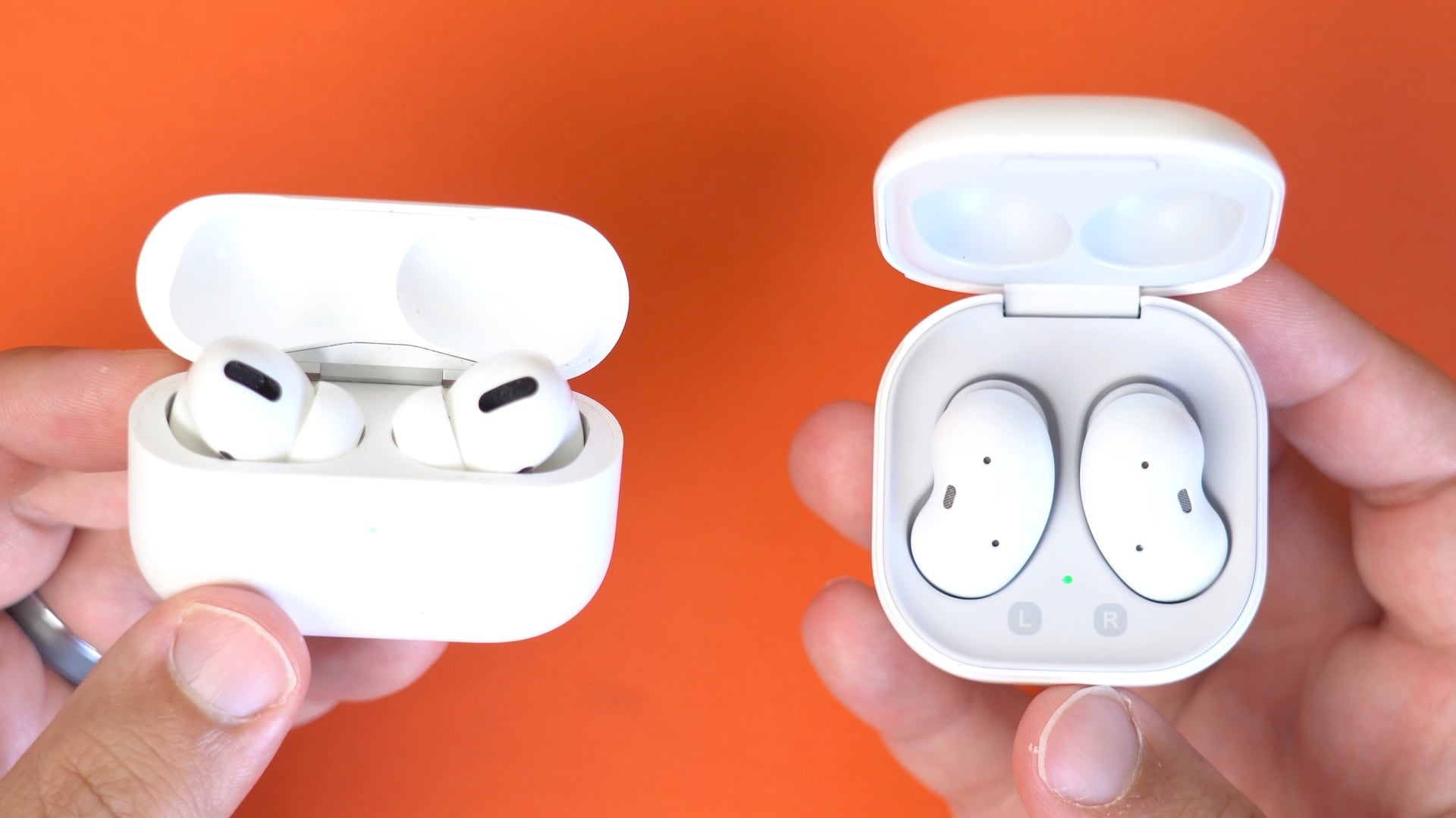 Samsung's Galaxy Buds Live vs. Apple's AirPods Pro - MacRumors