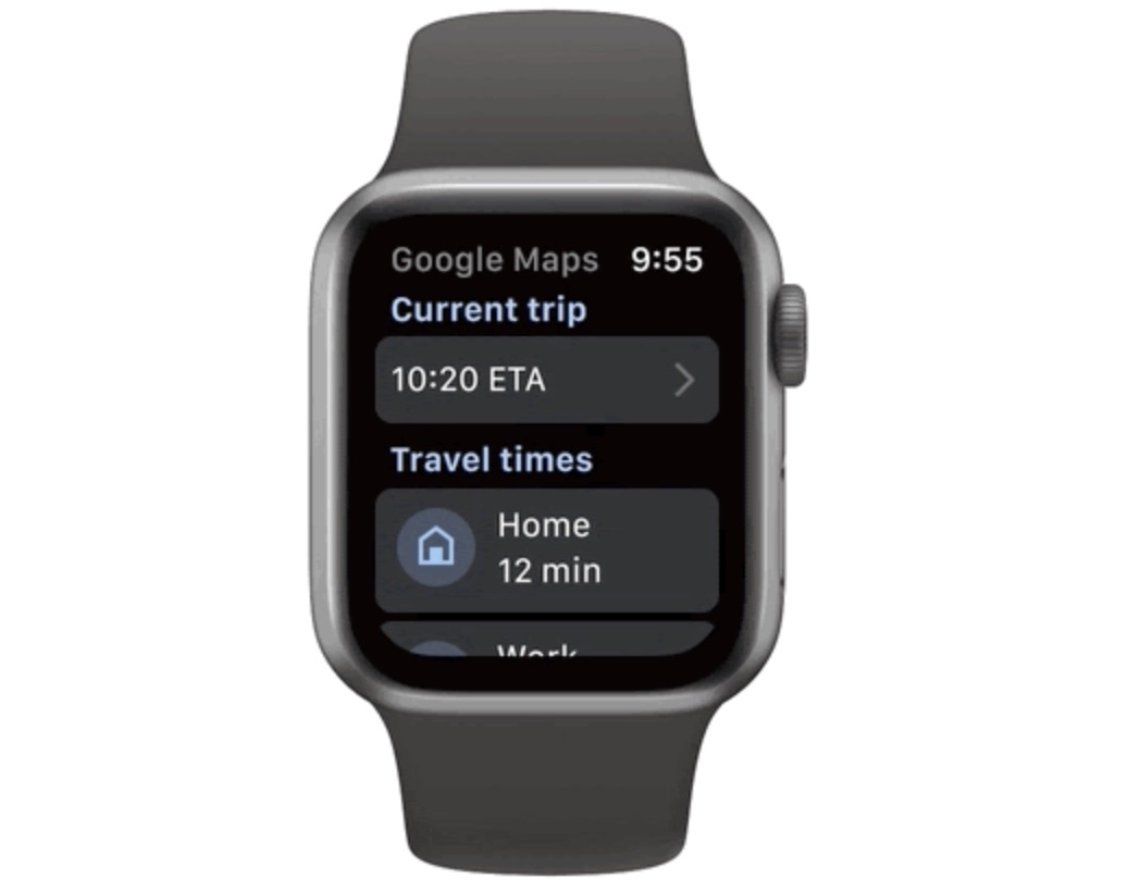 Google Maps Debuts New Apple Watch App and CarPlay Features - MacRumors
