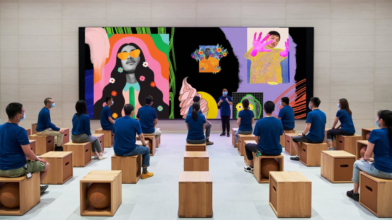 photo of 'Today at Apple' Creative Sessions Return to Apple Stores in China image