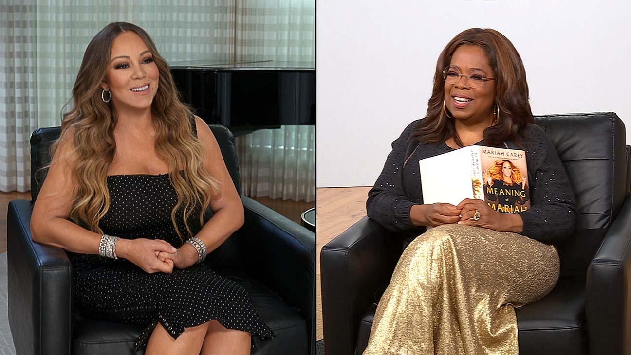 Mariah Carey Interviewed on 'The Oprah Conversation' for Apple TV+