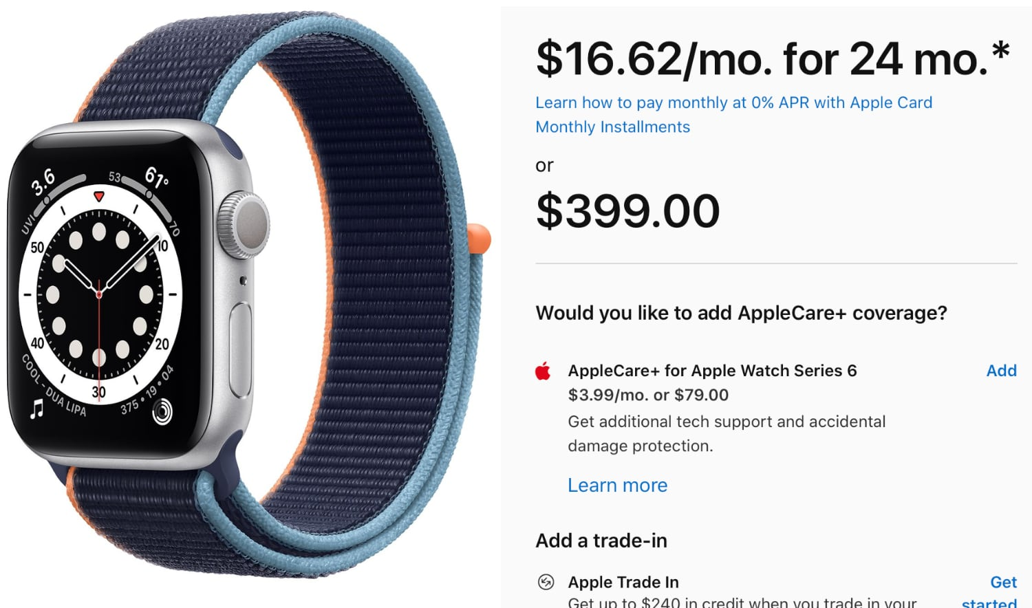 photo of Apple Watch Now Eligible for Apple Card Monthly Installments image