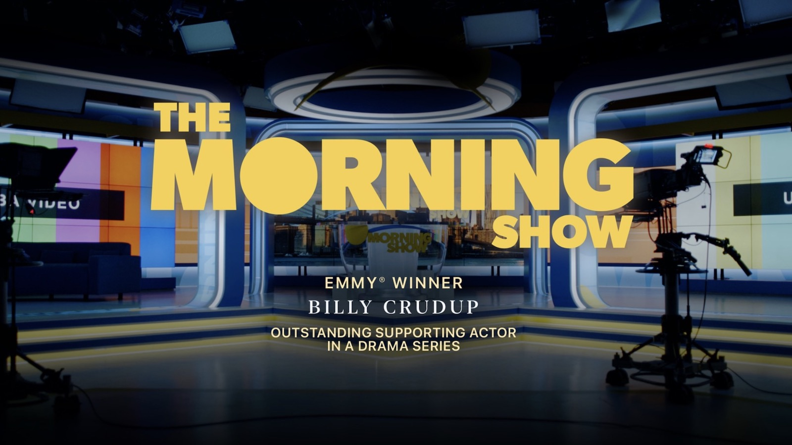 photo of Apple TV+ Wins Its First Emmy With Billy Crudup in 'The Morning Show' image