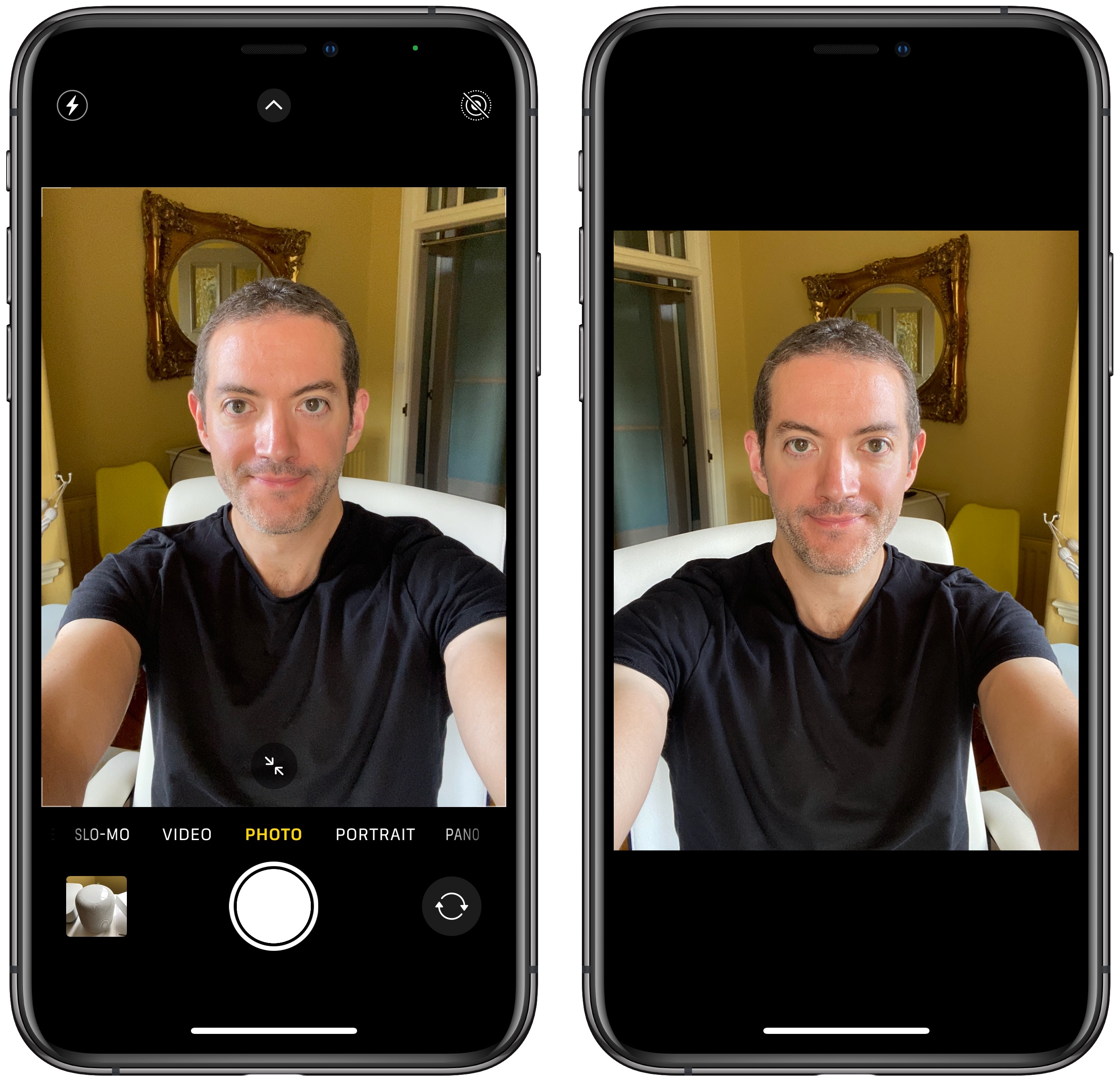 Ios 14 How To Mirror Your Front Camera On Iphone Macrumors