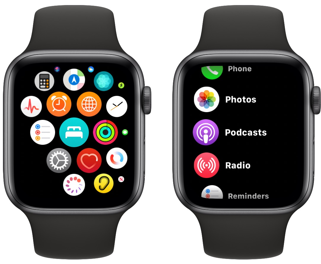 How To View Apps On Apple Watch As A List Macrumors