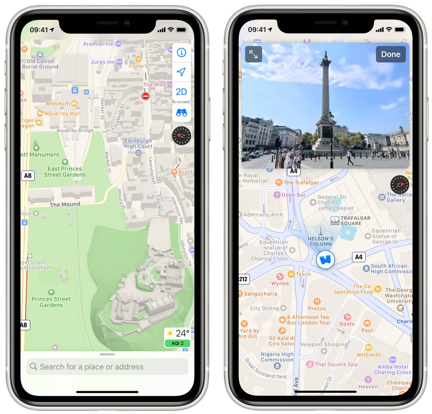 photo of Apple Launches Revamped Maps App in the United Kingdom and Ireland image