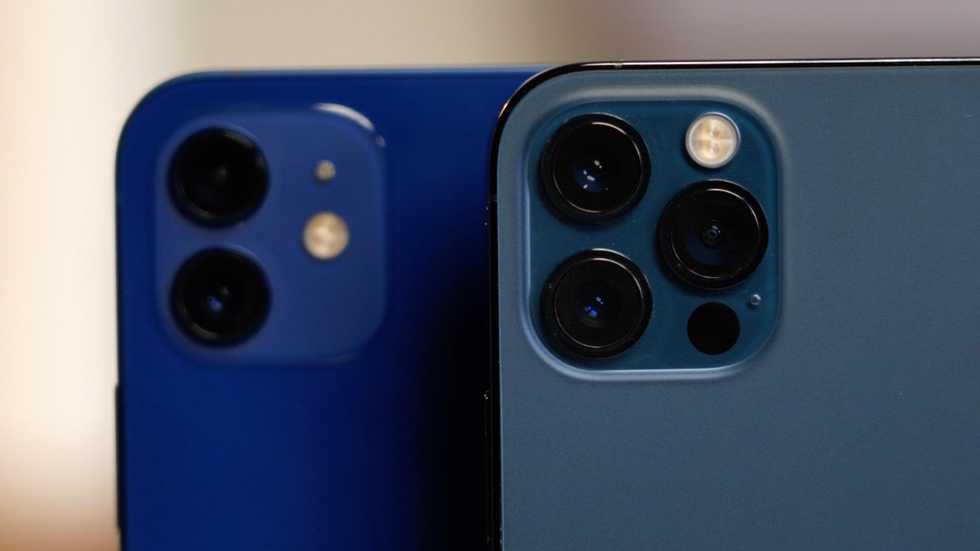 iPhone 12 cameras