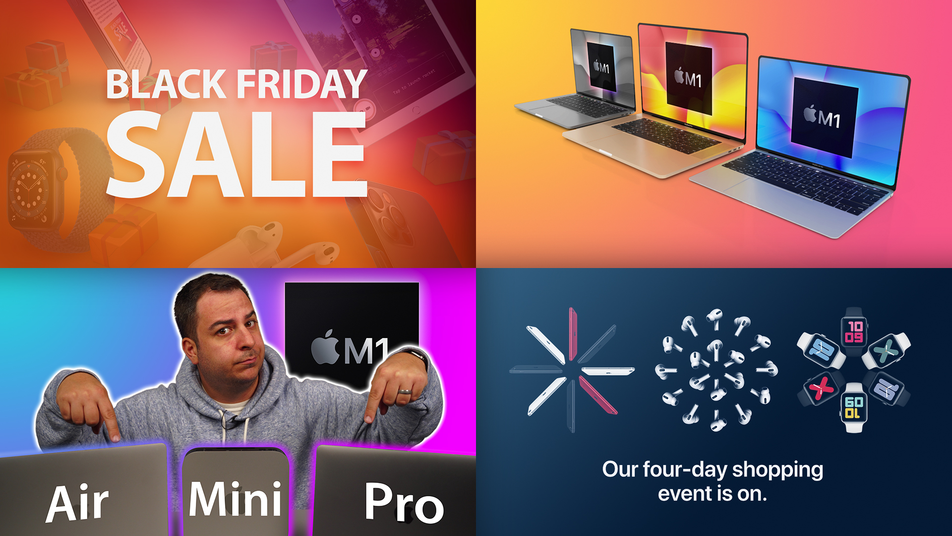 Top Stories: Black Friday Deals, Redesigned MacBooks, Hands-On With Apple's M1 Macs